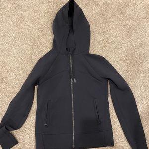 Lululemon Black full zip hoodie size 10